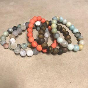 Jewelry - Natural stone beaded bracelets
